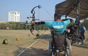Archery_testing and training at Krumur Healthcare Pune